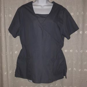 SB scrubs top Gray M